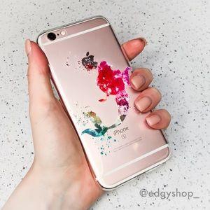 Graphic Mermaid iPhone Case